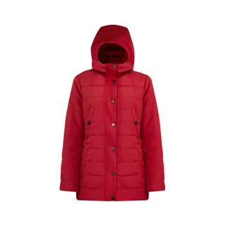 Finn Flare Kurzmantel Damen dark red
