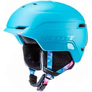 SCOTT Chase 2 Skihelm Damen cyan blue-pink