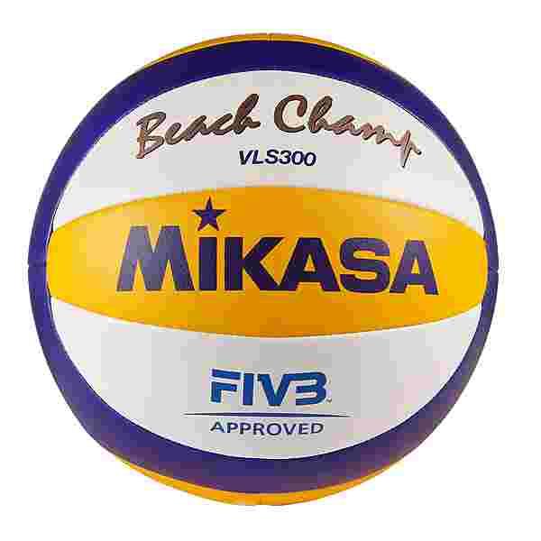 Mikasa Beachvolleyball weiß-blau-gelb