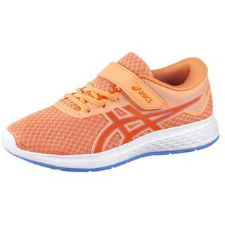 ASICS PATRIOT 11 PS Laufschuhe Kinder summer dune/shocking orange