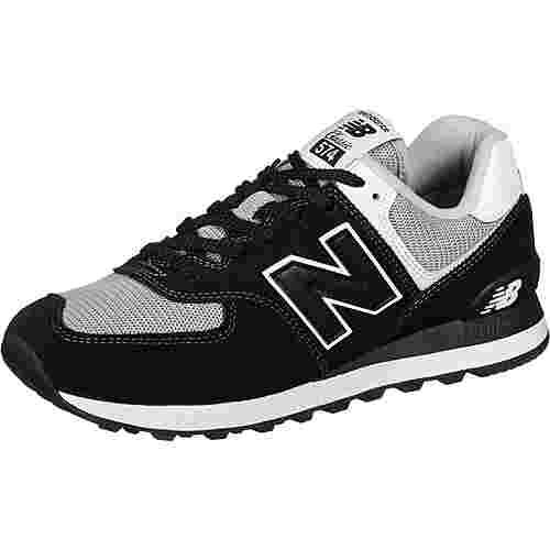 NEW BALANCE 574 Sneaker Herren schwarz/weiß