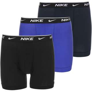 Nike Brief 3 Pack Boxershorts Herren blau/schwarz