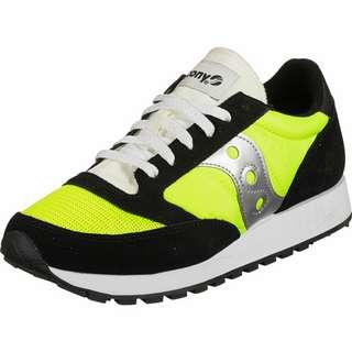 Saucony Jazz Original Vintage Sneaker Herren schwarz/neon/gelb