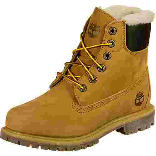 TIMBERLAND 6-inch Premium Shearling Lined Stiefel Kinder beige