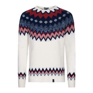 Colours & Sons Jacky Strickpullover Herren off-white