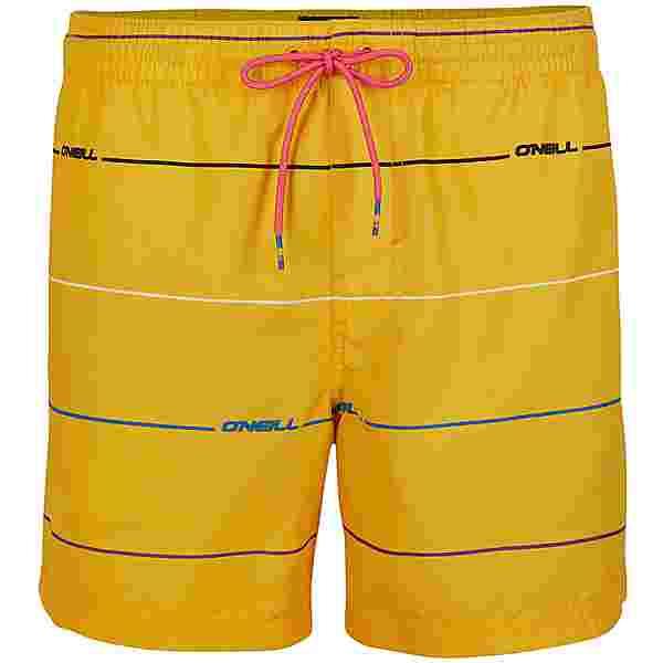 O'NEILL Contourz Badeshorts Herren yellow aop