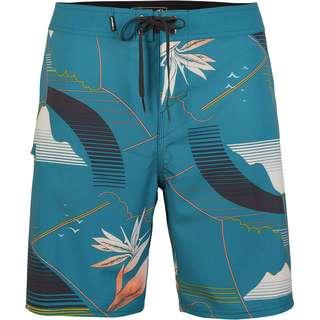 O'NEILL Hyperfreak Waka Boardshorts Herren blue aop