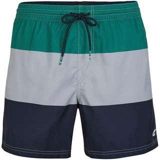 O'NEILL Horizon Badeshorts Herren green aop w- blue