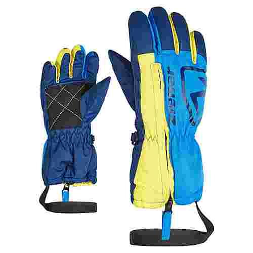 Ziener LEO MINIS Skihandschuhe Kinder persian blue