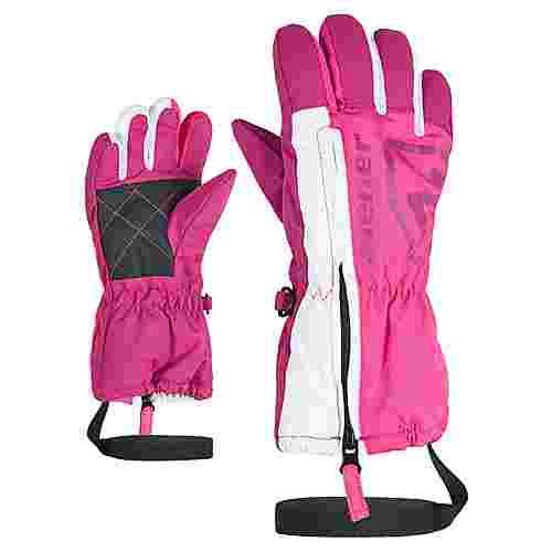 Ziener LEO MINIS Skihandschuhe Kinder pop pink