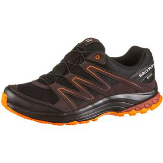 Salomon GTX® Sollia Wanderschuhe Herren black-choccolate plum-re