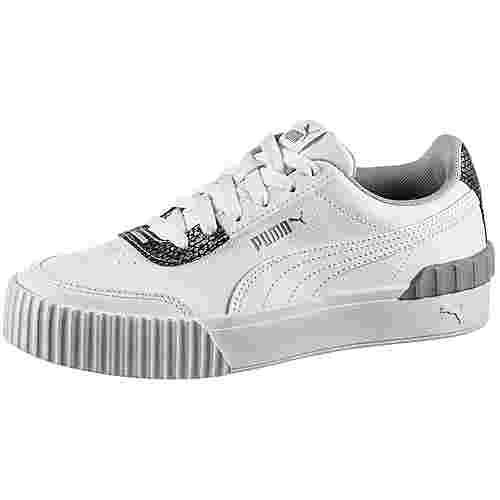 PUMA Carina Lift Snake Sneaker Damen puma white-puma white
