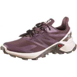 Salomon SUPERCROSS BLAST Trailrunning Schuhe Damen flint-vanilla ice-vintage kaki