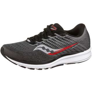Saucony Ride 13 Laufschuhe Herren charcoal-red