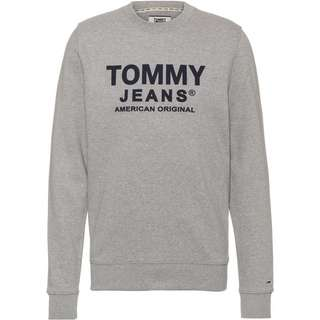 Tommy Hilfiger Essential Sweatshirt Herren lt grey htr