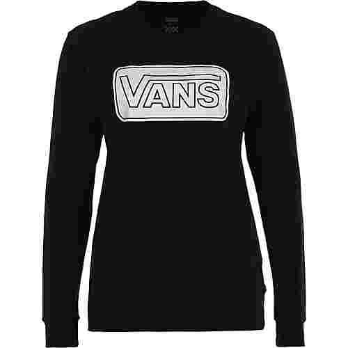 Vans Make me your own Longshirt Damen schwarz