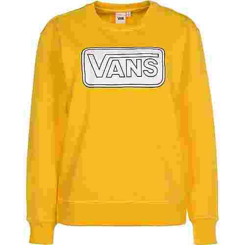 Vans Make me your own Fleece Sweatshirt Damen gelb
