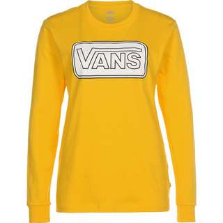 Vans Make me your own Longshirt Damen gelb