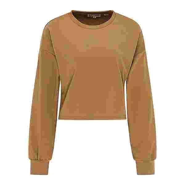 MYMO Sweatshirt Damen Braun
