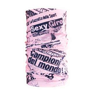 PERCY MASH Multifunktionstuch Halstuch La Gazzetta Multifunktionstuch Rosa