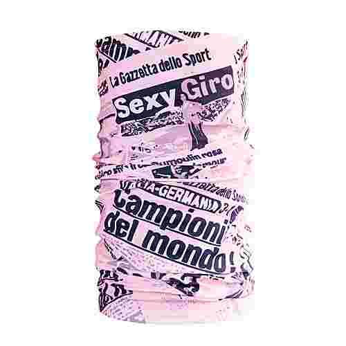 PERCY MASH La Gazzetta Multifunktionstuch Multifunktionstuch Rosa