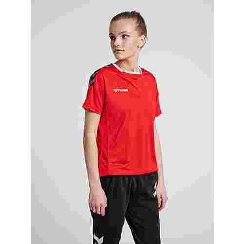 hummel hmlAUTHENTIC POLY JERSEY WOMAN S/S T-Shirt Damen TRUE RED
