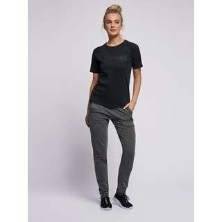 hummel hmlZENIA T-SHIRT S/S T-Shirt Damen BLACK