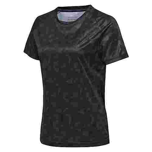 """hummel """"hmlACTIVE POLY JERSEY SS WOMAN T-Shirt Damen BLACK"""
