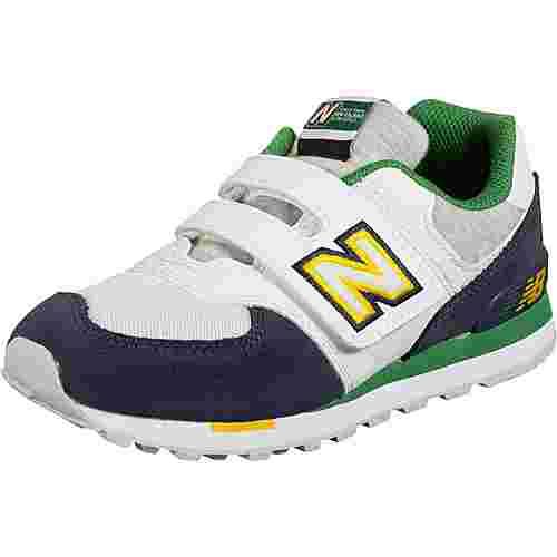 NEW BALANCE YV574 M Sneaker Kinder weiß