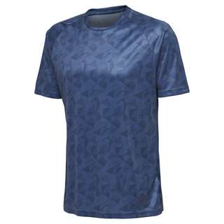 hummel hmlACTIVE POLY JERSEY S/S T-Shirt Herren ENSIGN BLUE