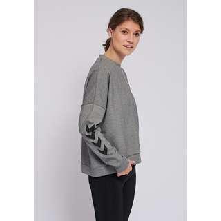 hummel hmlESSI SWEATSHIRT Sweatshirt Damen GREY MELANGE
