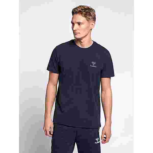 hummel hmlSIGGE T-SHIRT S/S T-Shirt Herren BLACK IRIS