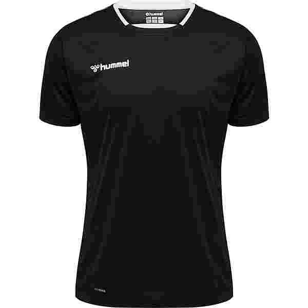 hummel T-Shirt Herren BLACK/WHITE