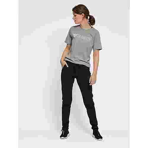 hummel hmlZENIA T-SHIRT S/S T-Shirt Damen GREY MELANGE