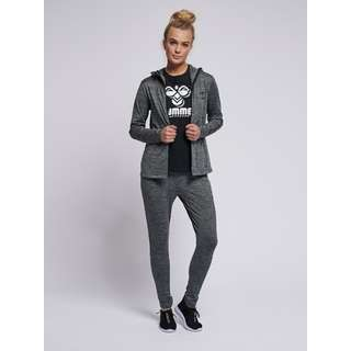 hummel Sweatjacke Damen DARK GREY MELANGE