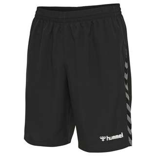 hummel hmlAUTHENTIC KIDS TRAINING SHORT Funktionsshorts Kinder BLACK/WHITE