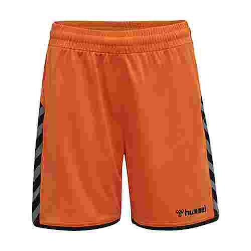 hummel hmlAUTHENTIC KIDS POLY SHORTS Funktionsshorts Kinder TANGERINE