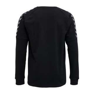 """hummel """"hmlAUTHENTIC TRAINING SWEAT Sweatshirt Herren BLACK/WHITE"""