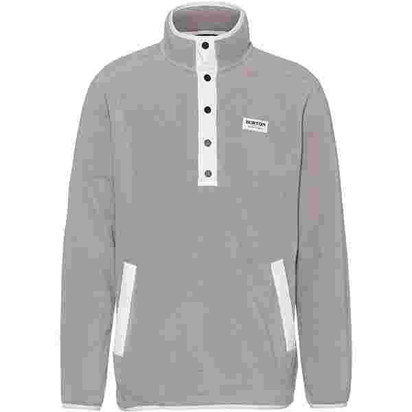 Burton Hearth Fleeceshirt Herren iron gray