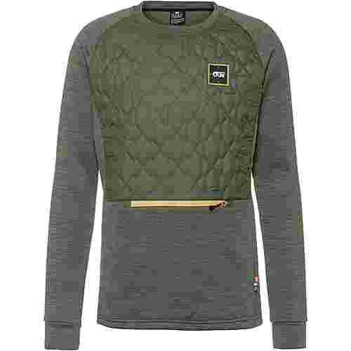 Picture Junip Tech Sweatshirt Herren lychen green