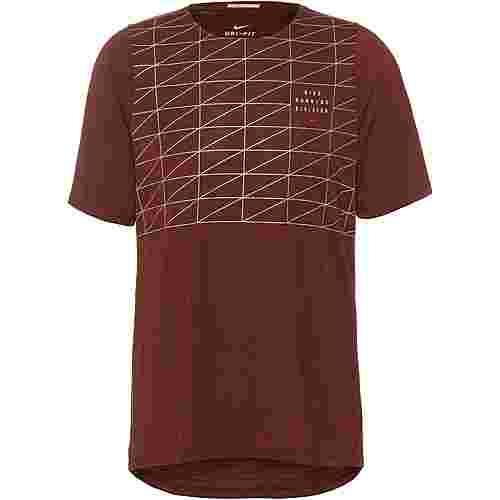 Nike Rise  365 Funktionsshirt Herren mystic dates-reflective silv