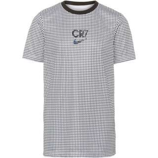 Nike CR7 Funktionsshirt Kinder white-black-black-iridescent