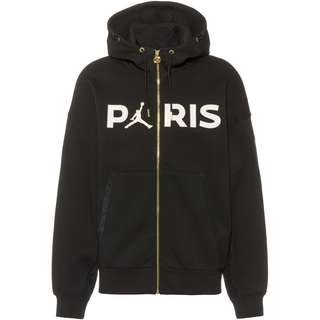 Nike Paris Saint-Germain/Jordan Kapuzenjacke Herren black-black-metallic gold-white