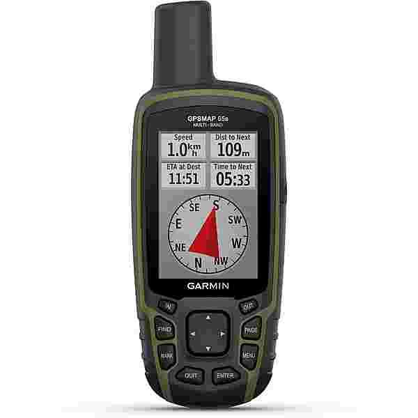 Garmin GPSMAP 65s GPS schwarz/olivgruen