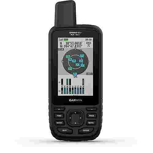 Garmin GPSMAP 66sr GPS schwarz/olivgruen