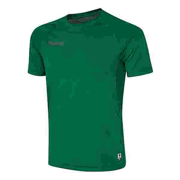 hummel HML FIRST PERFORMANCE JERSEY S/S T-Shirt Herren EVERGREEN