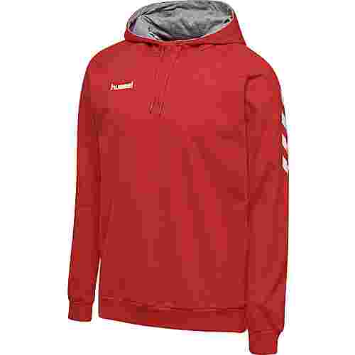 hummel HMLGO COTTON HOODIE Hoodie Herren TRUE RED
