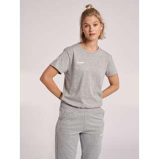 hummel HMLGO COTTON T-SHIRT WOMAN S/S T-Shirt Damen GREY MELANGE
