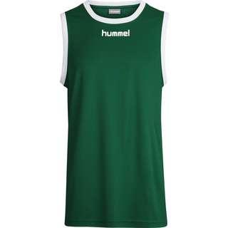 hummel CORE BASKET JERSEY T-Shirt Herren EVERGREEN