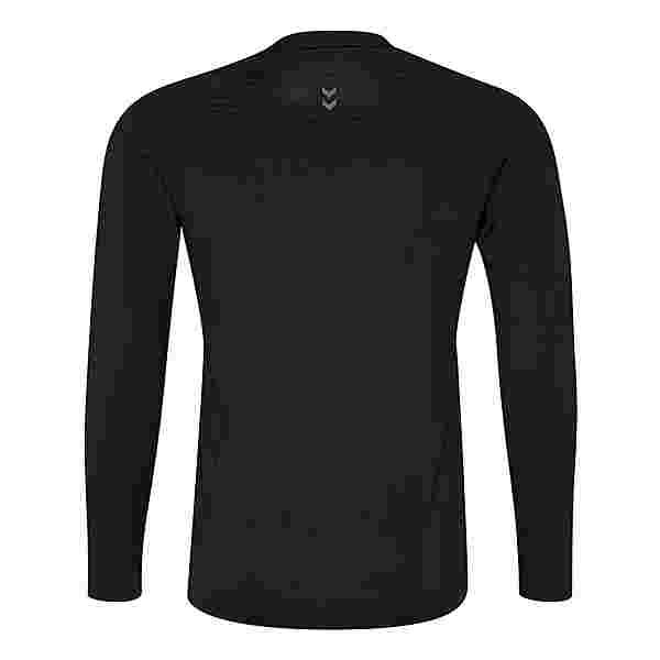 hummel HML FIRST PERFORMANCE JERSEY L/S T-Shirt Herren BLACK